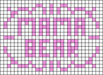 Alpha pattern #64488