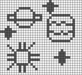 Alpha pattern #64550