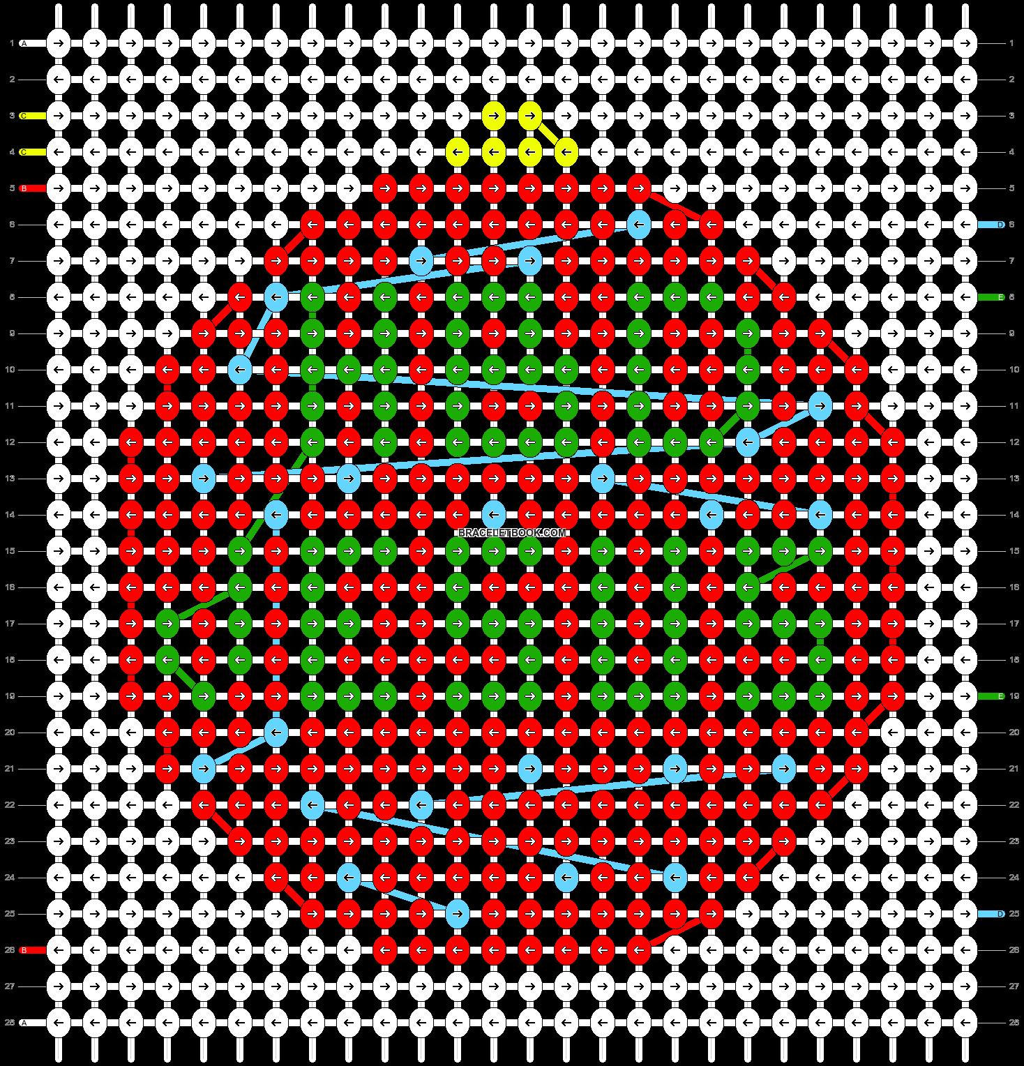 Alpha pattern #64553 pattern