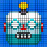 Alpha pattern #64556