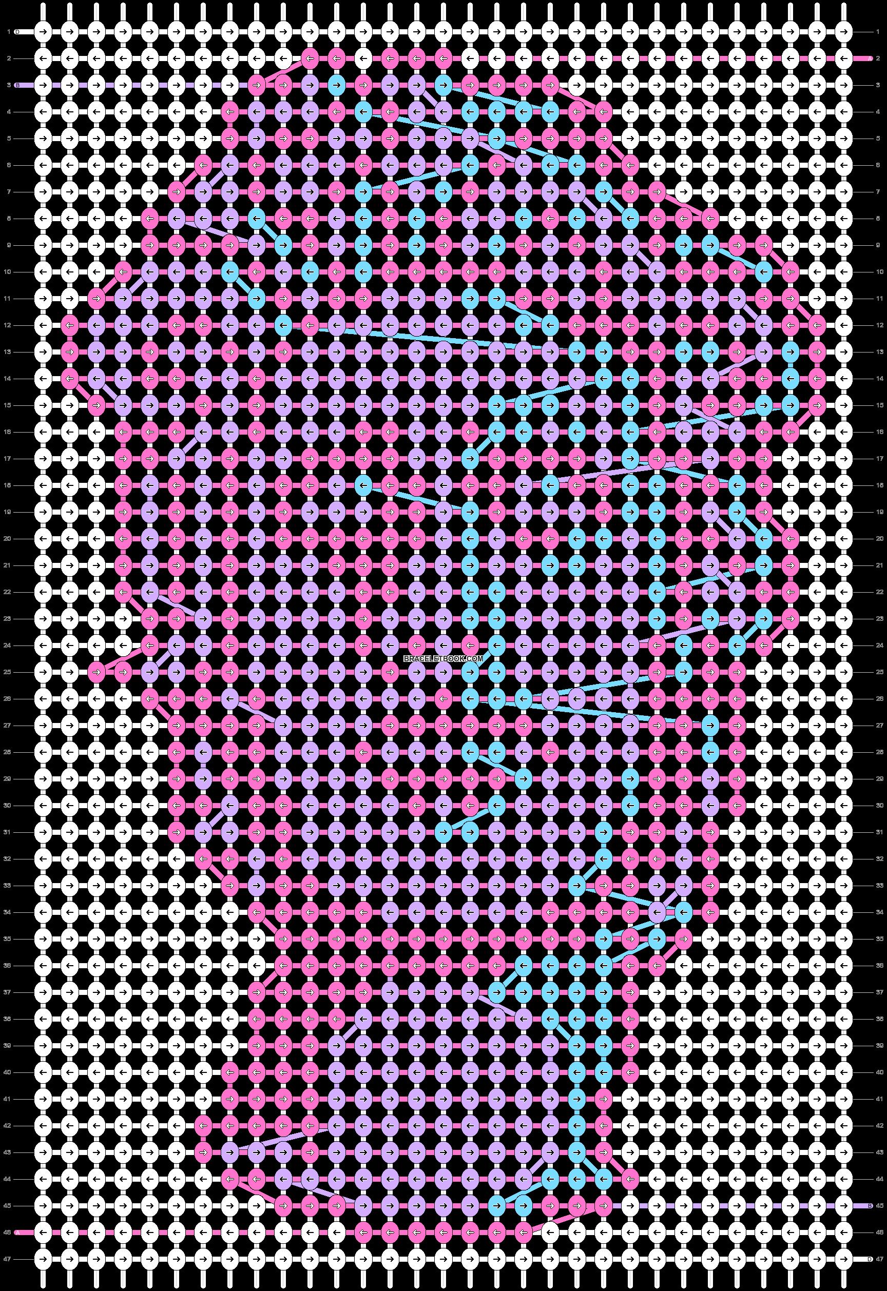 Alpha pattern #64564 pattern