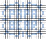 Alpha pattern #64568