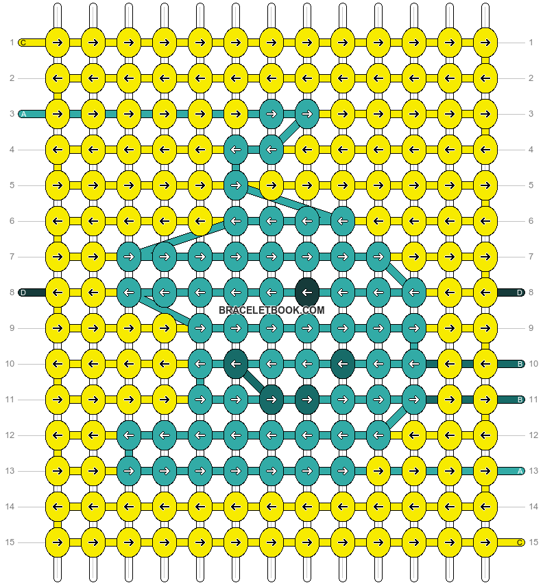 Alpha pattern #64569 pattern