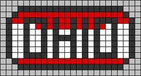Alpha pattern #64580