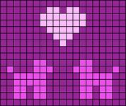 Alpha pattern #64588