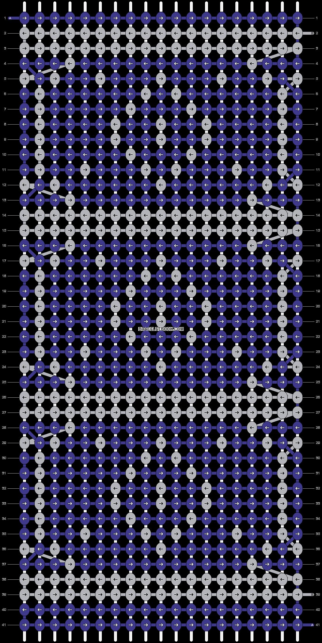 Alpha pattern #64596 pattern