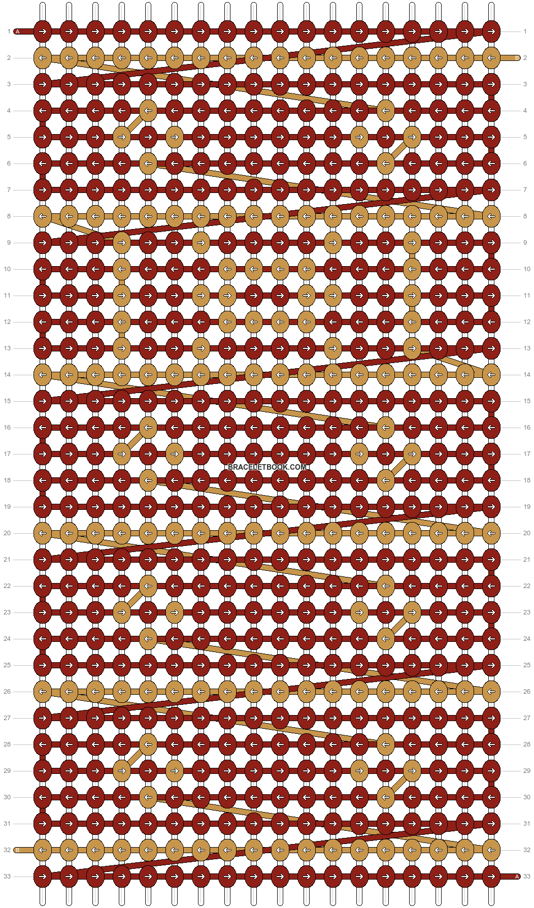 Alpha pattern #64604 pattern