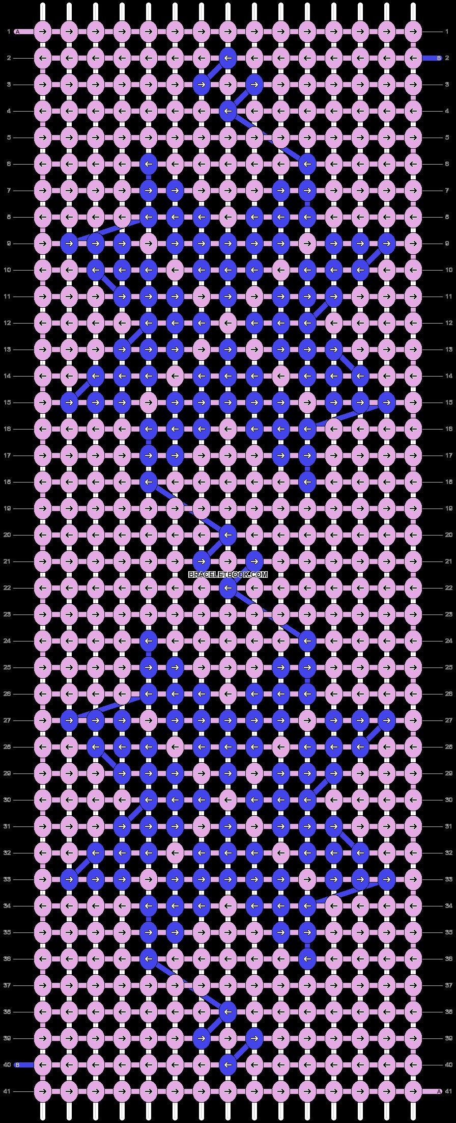 Alpha pattern #64652 pattern