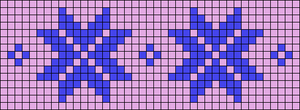 Alpha pattern #64652