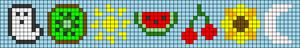 Alpha pattern #64658