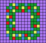 Alpha pattern #64688