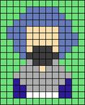 Alpha pattern #64691