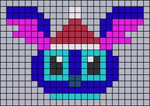 Alpha pattern #64693