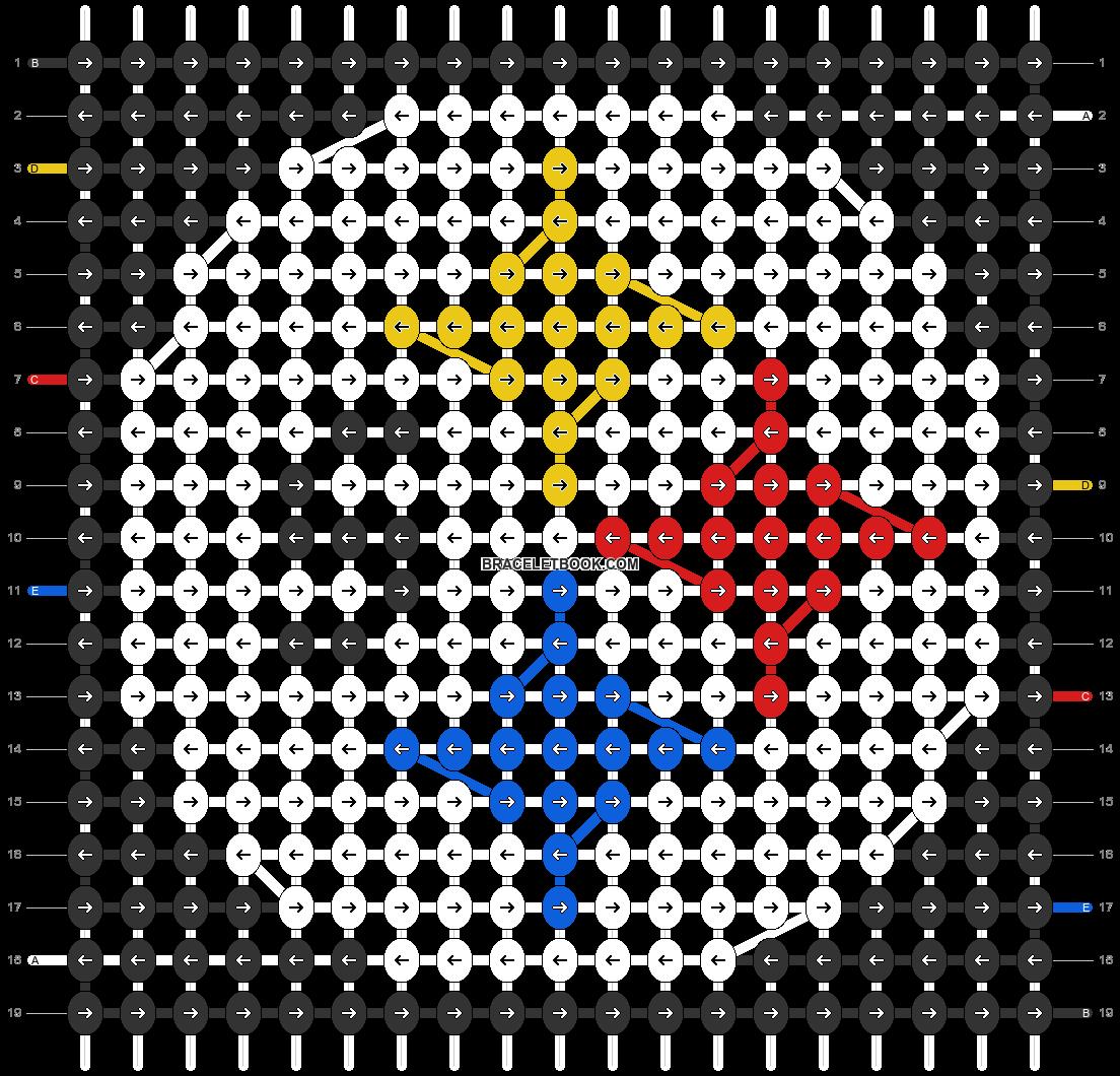 Alpha pattern #64695 pattern