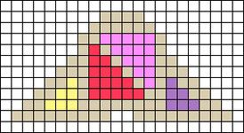 Alpha pattern #64699