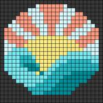 Alpha pattern #64722