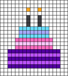 Alpha pattern #64728