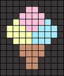 Alpha pattern #64771