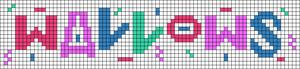 Alpha pattern #64778