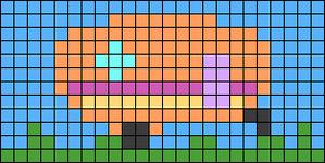 Alpha pattern #64805