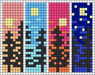 Alpha pattern #64825