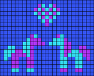 Alpha pattern #64827