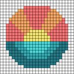 Alpha pattern #64832