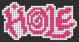 Alpha pattern #64849