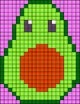 Alpha pattern #64851