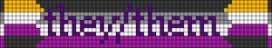 Alpha pattern #64878