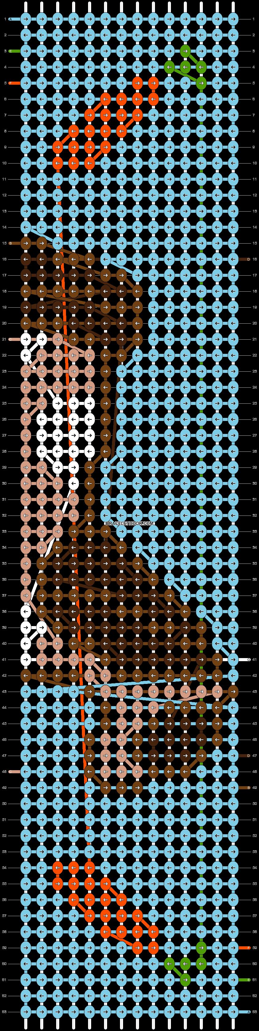 Alpha pattern #64893 pattern