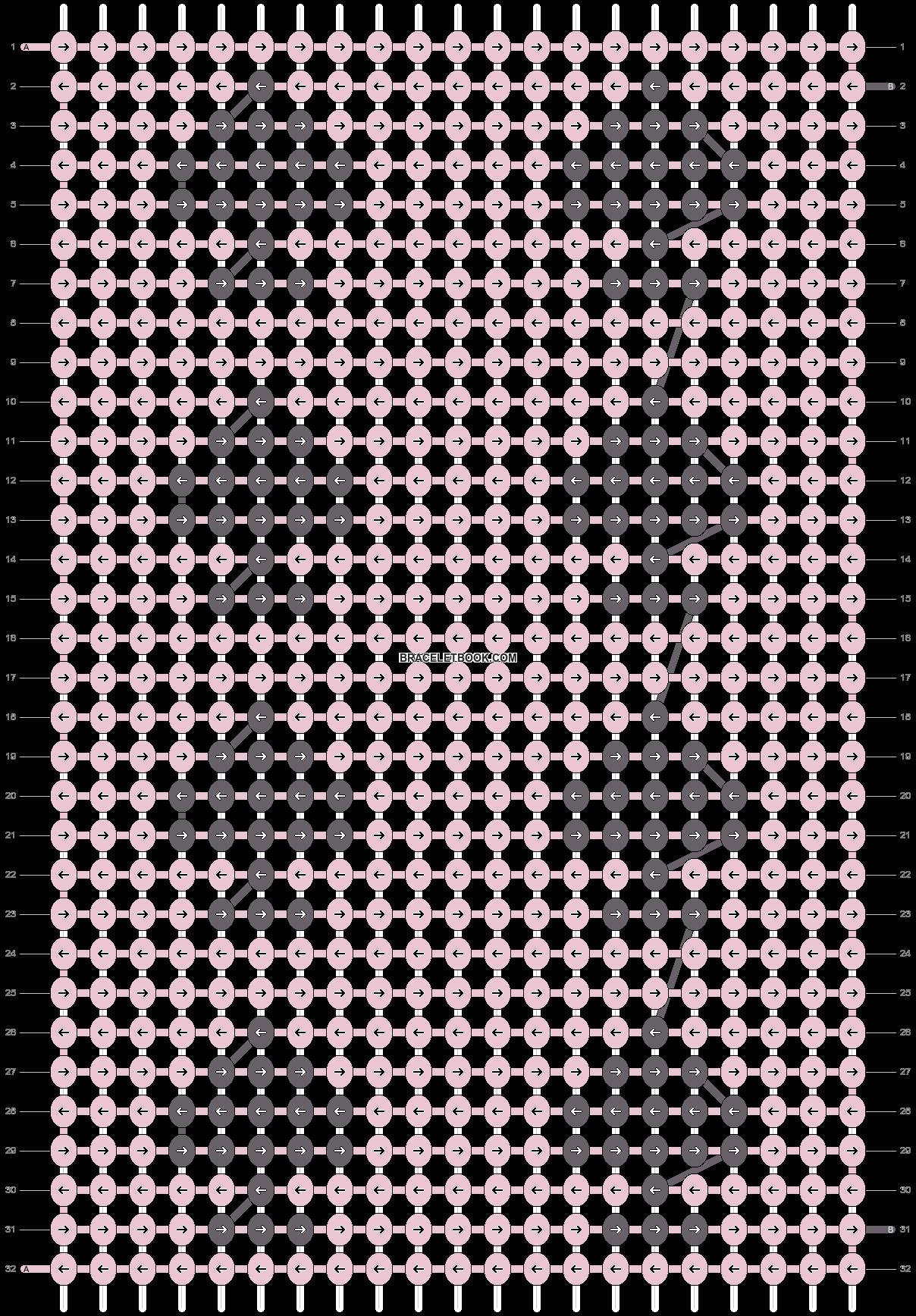 Alpha pattern #64898 pattern