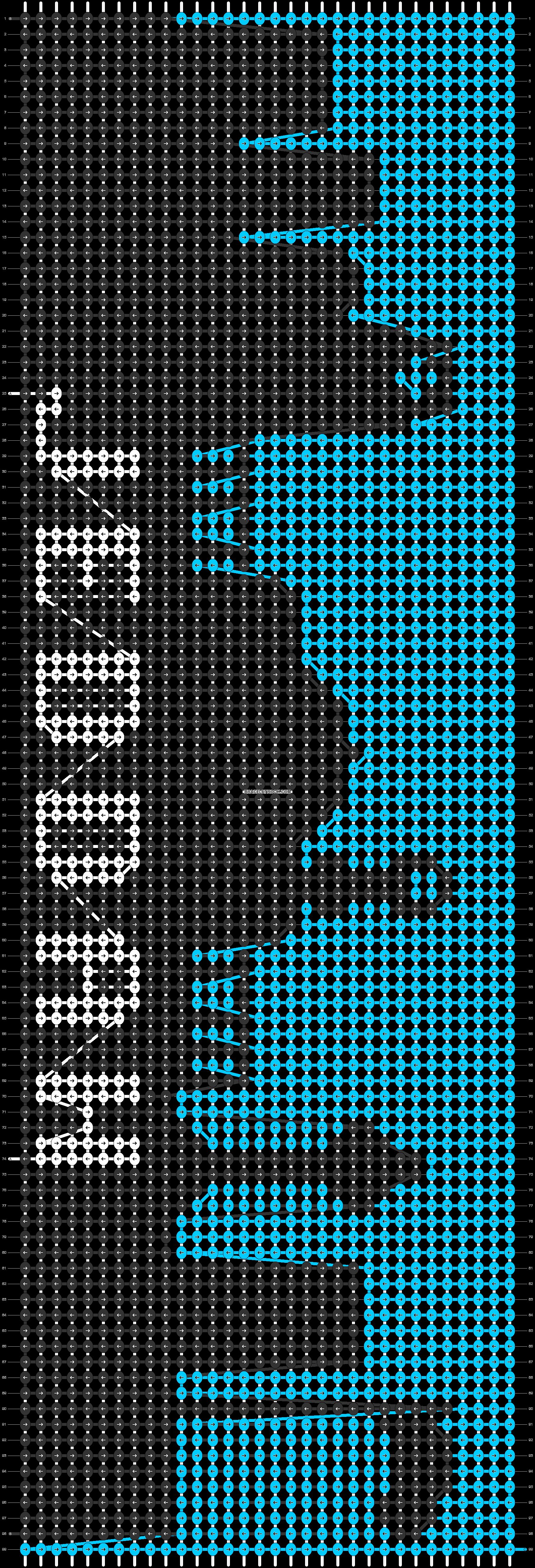 Alpha pattern #64945 pattern