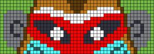Alpha pattern #64976