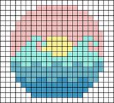 Alpha pattern #64984