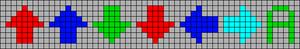 Alpha pattern #64988