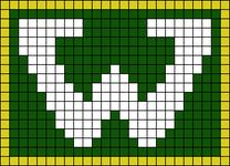 Alpha pattern #64995