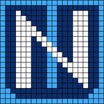 Alpha pattern #64998