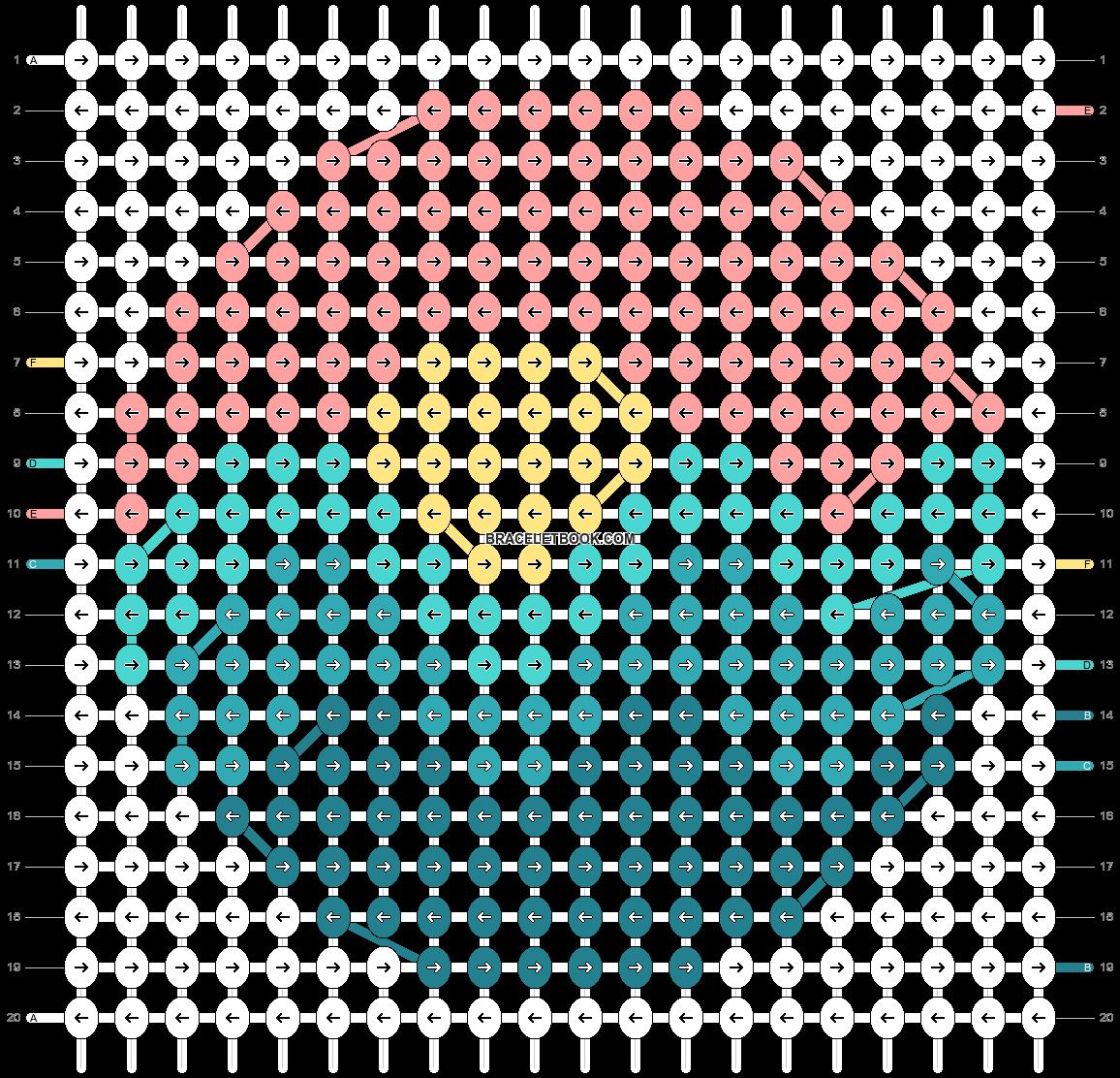 Alpha pattern #65095 pattern