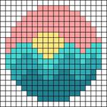 Alpha pattern #65095