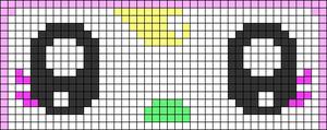 Alpha pattern #65106