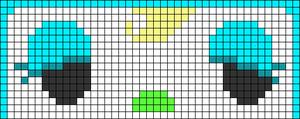 Alpha pattern #65108