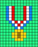 Alpha pattern #65123