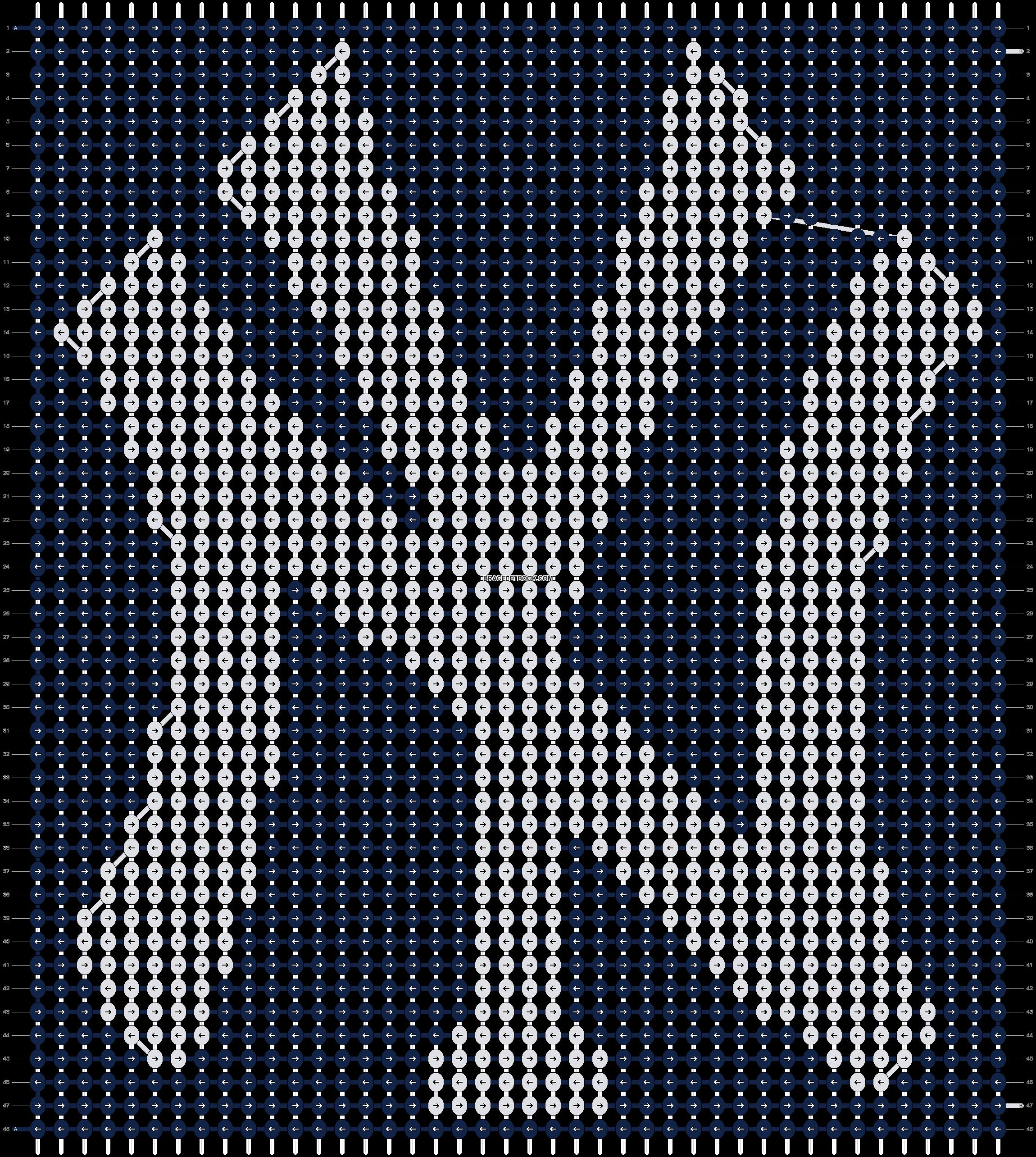 Alpha pattern #65130 pattern