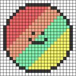 Alpha pattern #65156