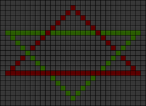 Alpha pattern #65249