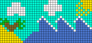 Alpha pattern #65300