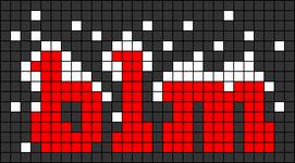 Alpha pattern #65324