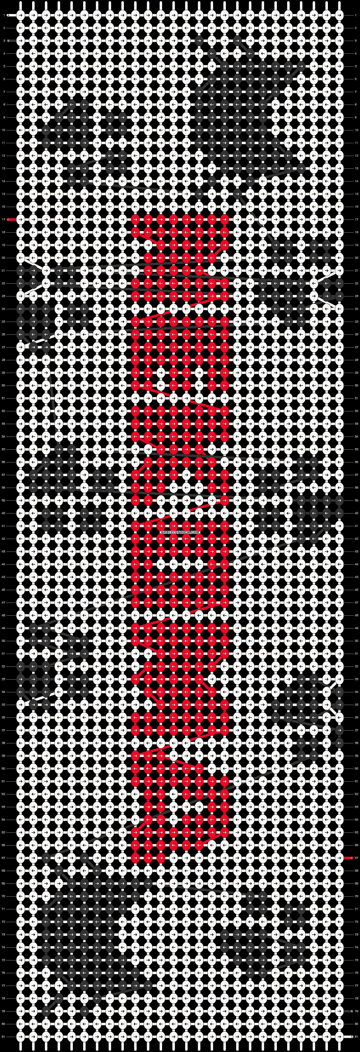 Alpha pattern #65330 pattern