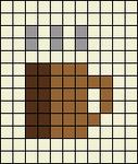 Alpha pattern #65432